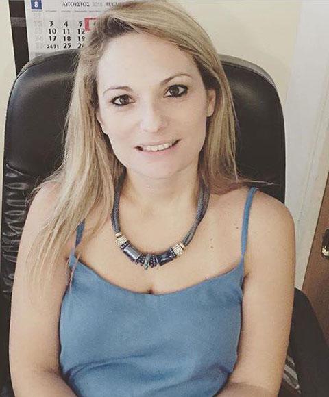 Mrs. Rena Mellou<br><span>Spare Parts & Supplies</span>