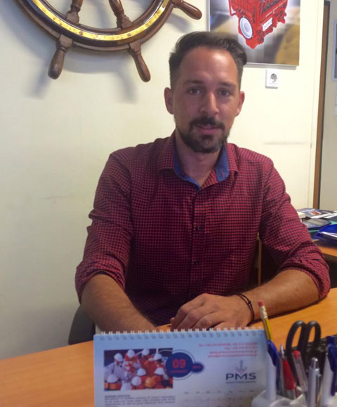 Mr. Konstantinos Soulis<br /><span>Technical Manager - Naval Architect</span>